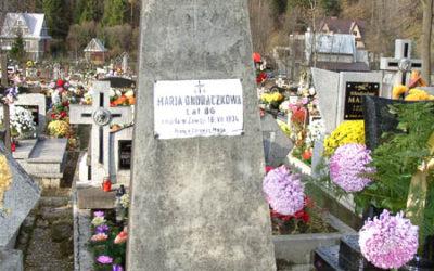 Cmentarz w Zawoi Centrum