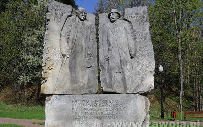 Pomnik prof. dr Władysława Szafera (1886-1970) i dr Hugona Zapałowicza (1852-1917)